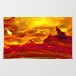 The Red Planet. Rug