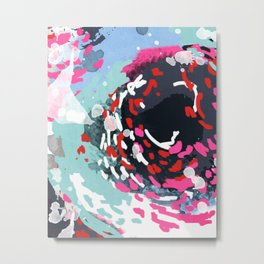 Kimball - Modern abstract painting for home decor in bold and bright colors Metal Print