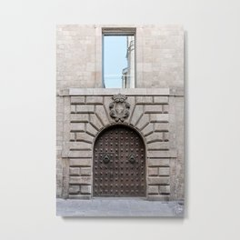 Barcelona, Spain Metal Print