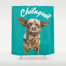 Chilaquil Shower Curtain