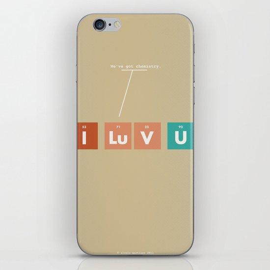 We've Got Chemistry iPhone & iPod Skin
