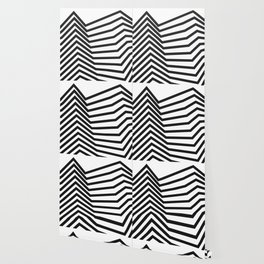Scandinavian Minimal Line Art Wallpaper