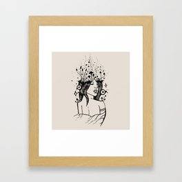 Queen of Spores Framed Art Print