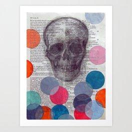 Enter Ghost Art Print