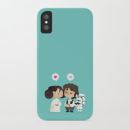 I love you, i know iPhone Case