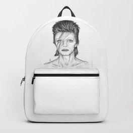 David Bowie Portrait Backpack
