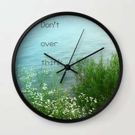 Don't Over Think Wall Clock
