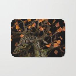 The Autumn Tree Dragon Bath Mat