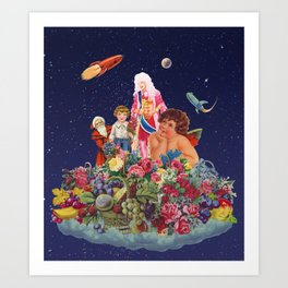 A Different Kind of Funky Universe Art Print
