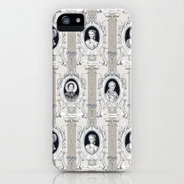 Science Women Toile de Jouy iPhone Case