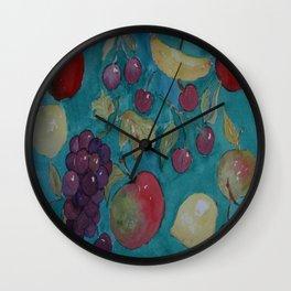 Retro Kitchen  WC20150714a Wall Clock
