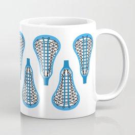 Girls'/Women's Lacrosse Sticks - Blue Coffee Mug