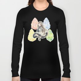Bravely Default Agnes & Crystals Watercolor Long Sleeve T-shirt
