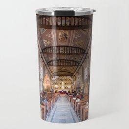 Basilica Minore Del Santo Nino, Cebu, Philippines Travel Mug