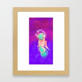 The Alien Goddess Framed Art Print