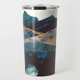 Blue Mountain Reflection Travel Mug
