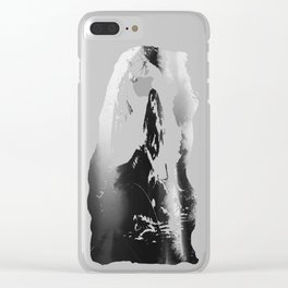What Lies Down Hidden Rain Drenched Paths Clear iPhone Case