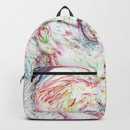 JAMES JOYCE portrait Backpack