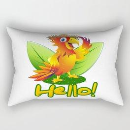 Macaw Rectangular Pillow