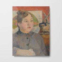 Madame Alexandre Kohler Metal Print