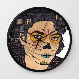 It's Michael Wall Clock