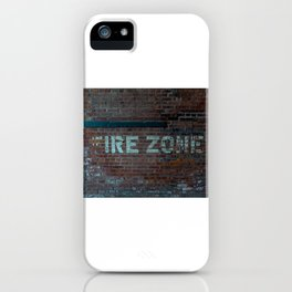 The (F) Ire Zone iPhone Case