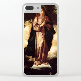 "Diego Velázquez ""The Immaculate Conception"" Clear iPhone Case"