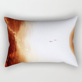 Mars Diving Rectangular Pillow
