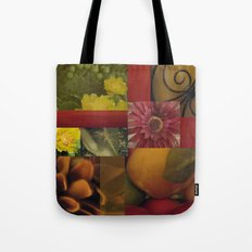 Flowers & Fruit Tote Bag