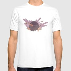 The mole Mens Fitted Tee White MEDIUM