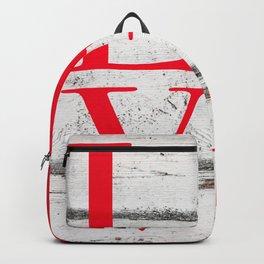 Ohio Love Wood Print Backpack
