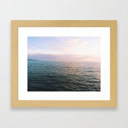 I Sea You Framed Art Print
