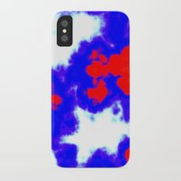 patriotic iPhone & iPod Cases featuring Patriotic Sky by Christy Leigh