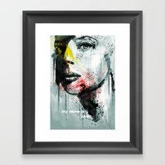 her name is nina Framed Art Print