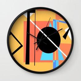 Bauhaus Pt.2 Wall Clock