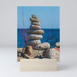 Stone Stack Photograph Mini Art Print