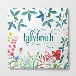 Lallybroch Metal Print