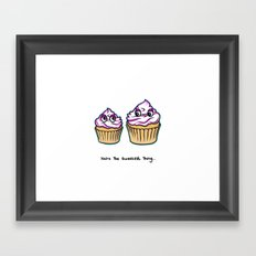 Mothers Day - You're the sweetest thing - Cupcakes Framed Art Print