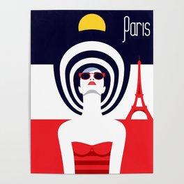 Stylish Journey - Paris Poster