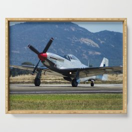 P-51 Mustang Serving Tray