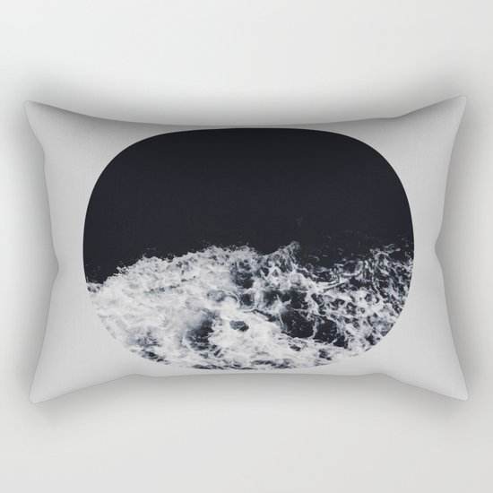 Ocean Moon #society6 #decor #buyart Rectangular Pillow