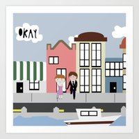 tfios Art Prints featuring Amsterdam (TFIOS) by Natasha Ramon