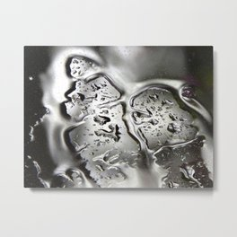 Window water Metal Print