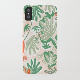 Tropical Abstract Pattern iPhone Case