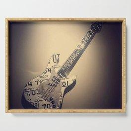 Héroe de la Guitarra Serving Tray