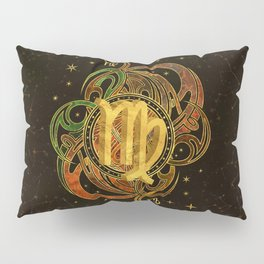 Virgo Zodiac Sign Earth element Pillow Sham