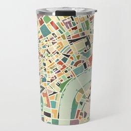 CITY OF LONDON MAP ART 01 Travel Mug