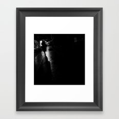 how will my story be told now? Framed Art Print