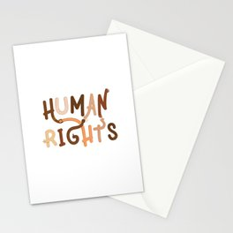 Human Rights Stationery Cards