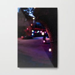 Lights Metal Print